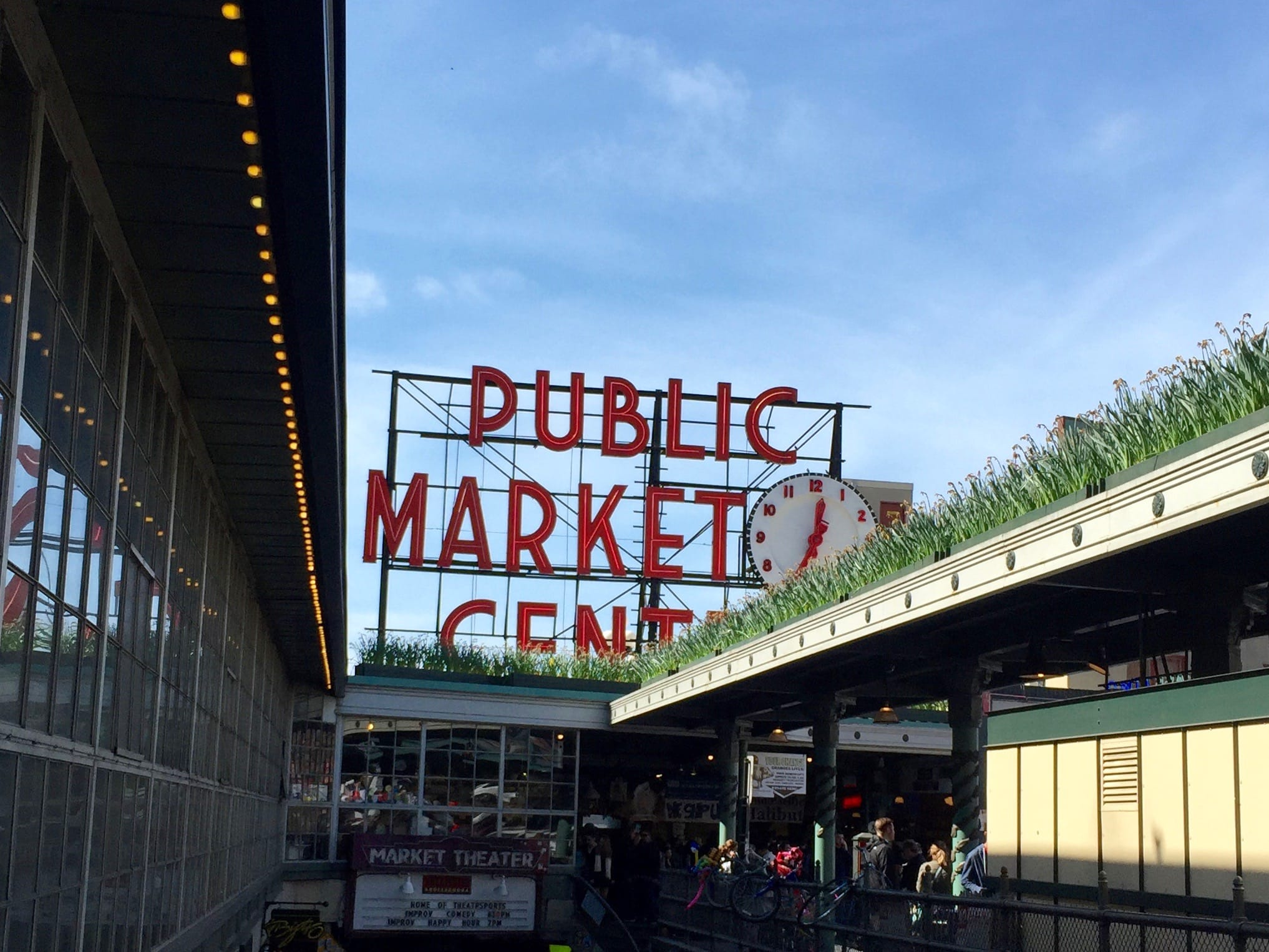 The first thing we did upon arrival at our hotel (we loved the Warwick for so many reasons) was venture out to the Pike's Place Market. They have the original Starbucks, fish being thrown around, flowers by the bundles and all sorts of other things to see.