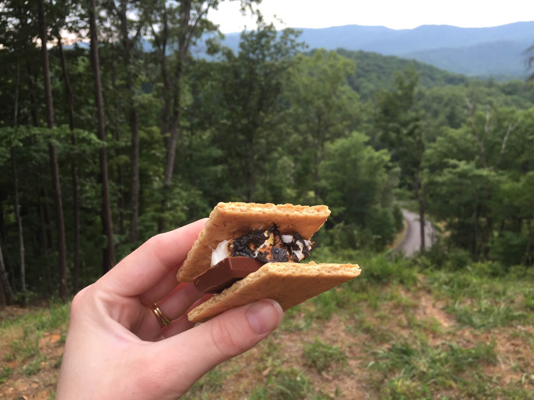 And we made S'mores!