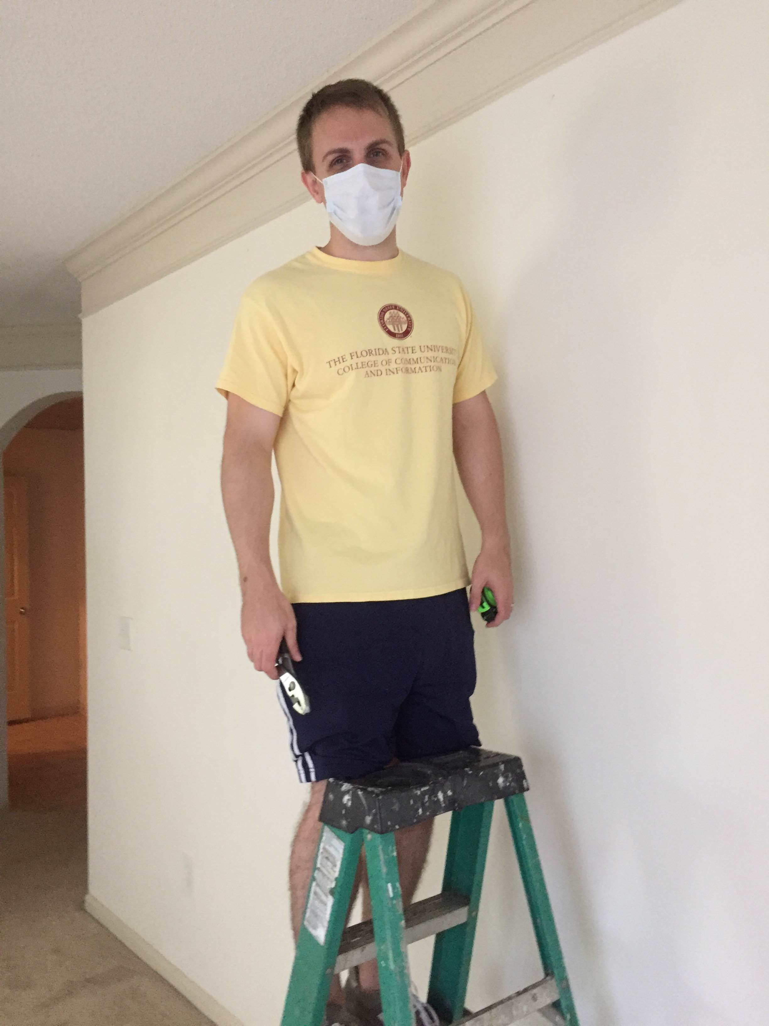 Our friends and family just showed us again how amazing they are. They moved us, painted our house and did everything on the tightest time schedule.
