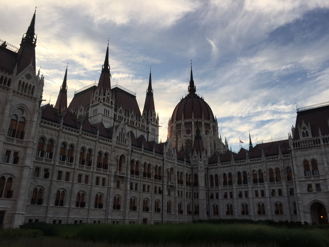 Hungarian Parliament is a beauty.