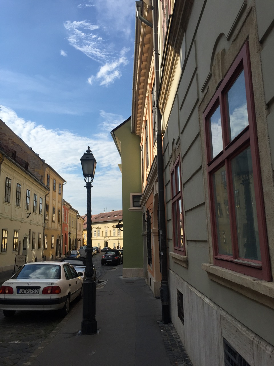 Quaint streets of Budapest