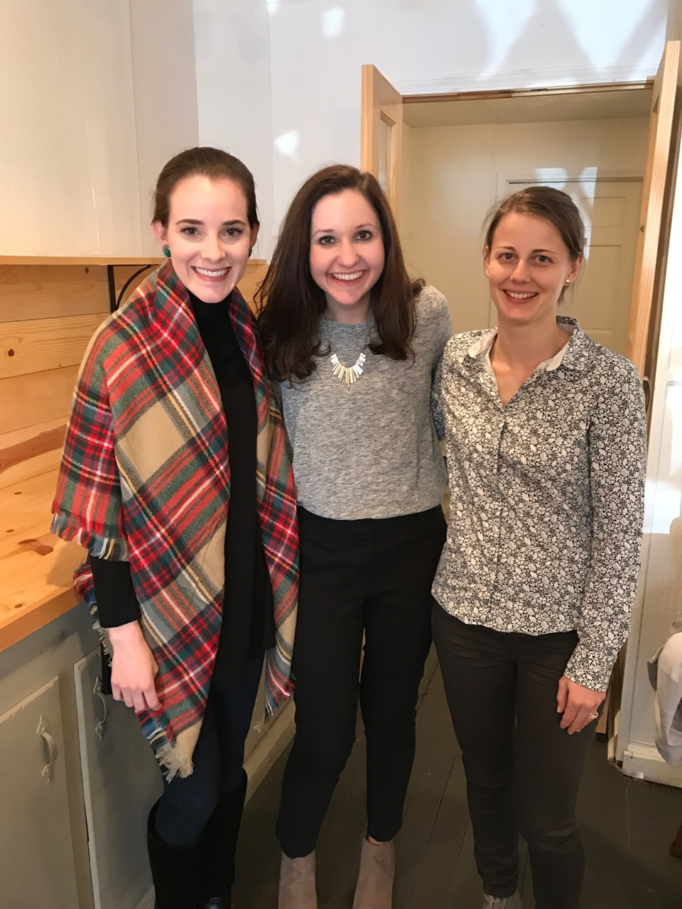 A few days before New Year's, we (Matt, myself and our friend Stephanie) got to host a party for two sweet friends who got engaged. The couple met on our Hungary mission trip! We also celebrated by having a coffee date with a few girls at Mugs.