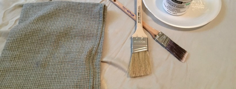 Get a few good brushes to help with your painting job. I really like the more expensive brushes (like Purdy), because I do think they do a better job and you don't lose as many bristles in your project. If you keep them clean, the brushes will last you a long time.